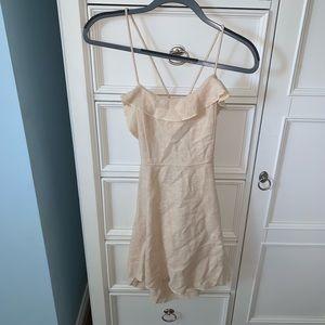 Free people tan dress